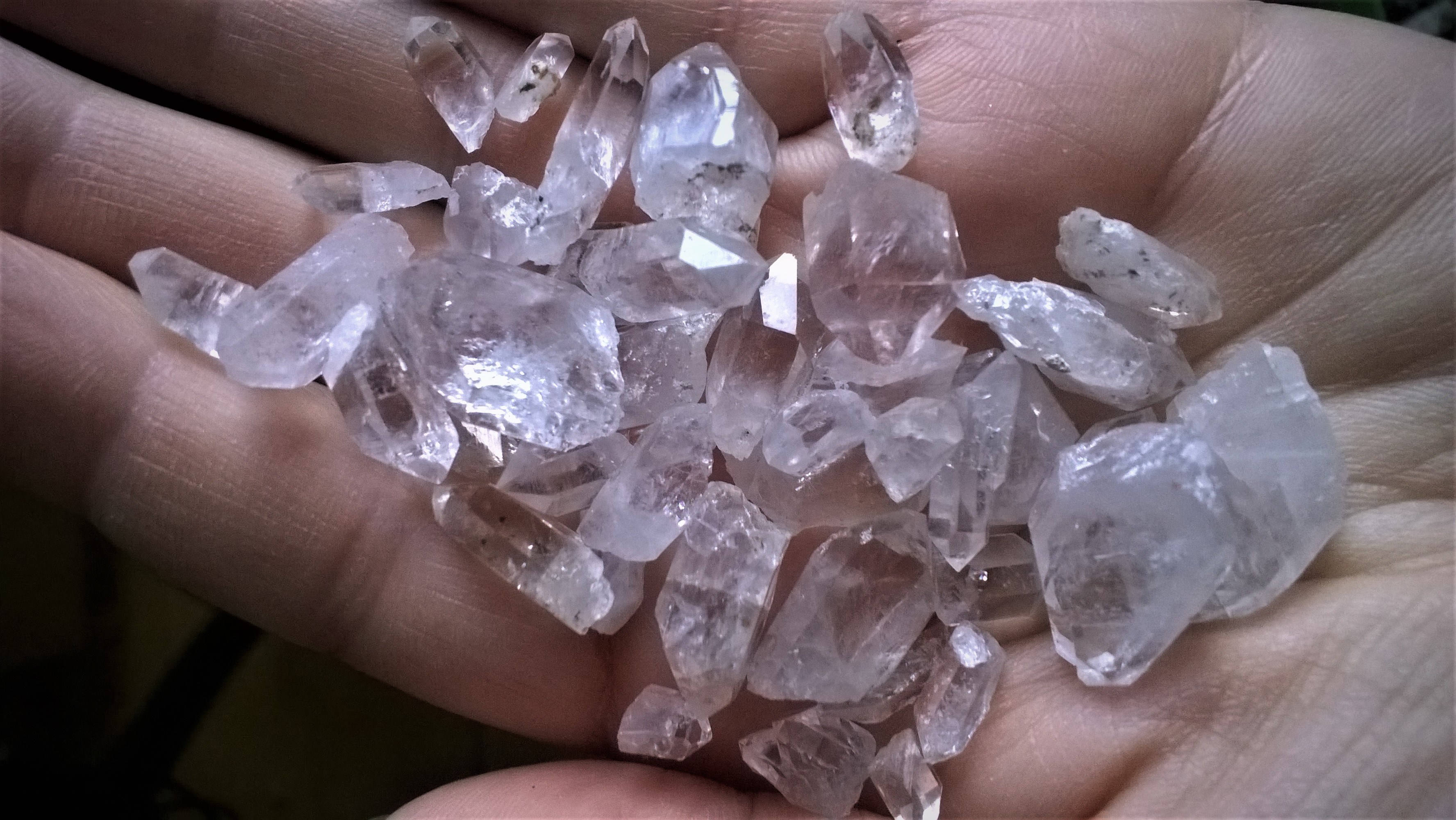 Quartz points from Ireland